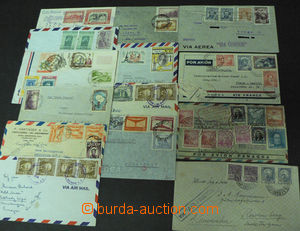 43097 - 1936-57? SOUTH AMERICA  selection 14 pcs of air-mail entires