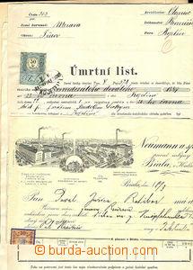 43167 - 1865-1935 RAKOUSKO-UHERSKO, ČSR I.  sestava 8ks různých list