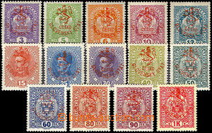 43322 - 1918 Pof.RV43-57 (outside 49), Hluboka issue . Mareš's overp