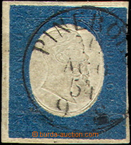 43404 - 1854 Mi.8, c.v.. 120€, light fold in lower margin, nice post