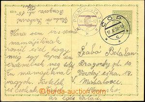 43474 - 1938 dopisnice CDV65 zaslaná k vojenskému útvaru bez uved