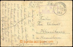 43807 - 1916 postcard (photo members military. formation) without fr
