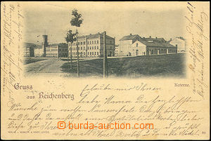 43820 - 1899 Liberec - Gruss aus Reichenberg, barracks, single-view,