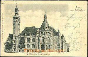 43821 - 1899 Liberec - Gruss aus Reichenberg, severočeské živnost