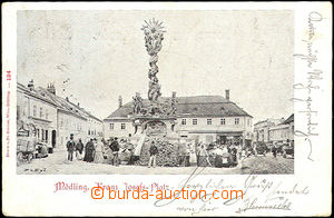 43826 - 1899 Mödling - Austria,  B/W single-view, square, long addr
