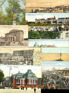43829 - 1905-12 GERMANY - comp. 11 pcs of mostly color single-view P