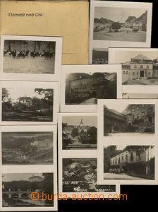 43872 - 1932 Náměšť nad Oslavou - dárková sestava 8ks čb dvouzáběrov