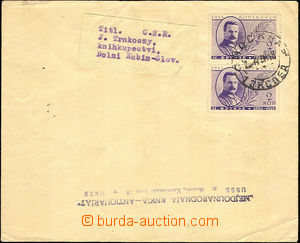 44019 - 1936 printed matter to Czechoslovakia, with Mi.2x 539, CDS M