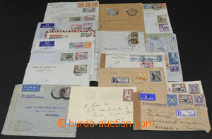 44025 - 1933-56 OVERSEA  selection of 18 pcs of various letters main