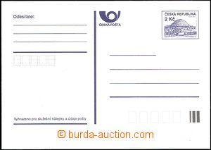 44066 - 1993 CDV1Xa Říp with small frame, white paper, nice, c.v..