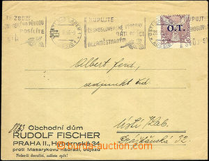 44074 - 1936 envelope with additional-printing firm Commercial house