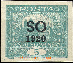 44105 -  Pof.SO3, plate variety overprint,  letters SO blízko thems