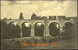 44172 - 1913 Vyškov viaduct before/(in front of) městskými park w