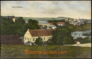 44191 - 1932 Studená - color single-view, Us, on reverse browny mar