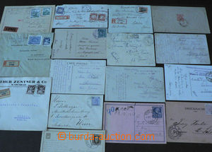 44278 - 1907-40 EUROPE  selection 16 pcs of various entires from Aus
