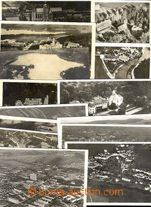 44292 - 1922-43 issue Views from aircraft, comp. 14 pcs of various p