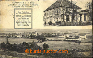 44357 - 1930 Hermanitz a.d. Elbe (Heřmanice n./L.), 2-view, pub and