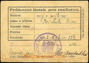 44403 - 1932 Letecký pluk 1, T.G. Masaryka, Technická letka, Průk