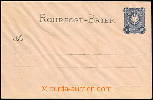 44518 - 1876 obálka pro potrubní poštu Mi.RU1, bez rozety, čist�