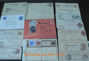 44662 - 1886-64 EUROPE  partie 21ks celin, většinou dopisnice star