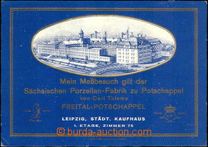 44708 - 1935 Freital Porzellan Factory, advertising postcard with pi
