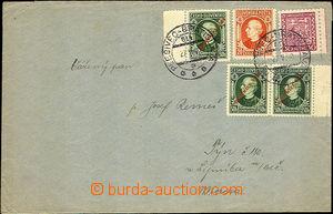 44725 - 1939 dopis do ČaM se smíšenou frankaturou čsl. a slov. z