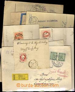 44818 - 1870-1950 ČSR  KROMĚŘÍŽ  18ks celistvostí s razítky poštovní