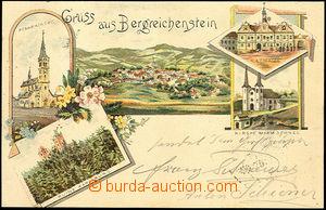 44830 - 1902 Kašperské Hory - Gruss aus Bergreichenstein, kostel, hr