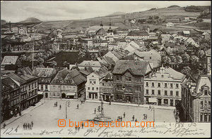 44836 - 1903 Česká Kamenice (Bohemian Kamnitz) - top view in the squ