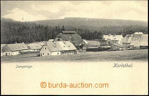 44839 - 1900 Karlsthal (Orle), Isergebirge, zajímavý pohled na osadu