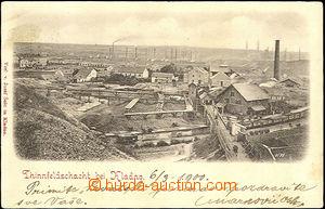 44843 - 1900 Kladno - mining colliery by/on/at Kladno (Thinnfeldscha
