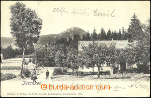 44848 - 1904 Ještěd (Jeschken) - view from valley; long address, U