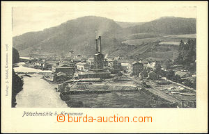 44854 - 1900 Větřní (Pečkův mill, Pötschmühle) - Spirova pulp