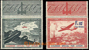 44893 - 1941 FRANCIE / KURÝRNÍ POŠTA  privátní vydání leteck�