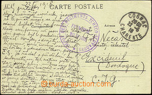 44901 - 1918 FRANCE  correspondence between members French legion, s