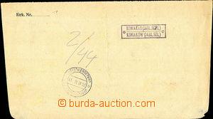 44913 - 1918 Polish occupation Czechosl. territory, postal agency pm