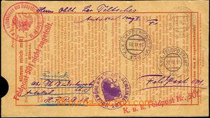 44927 - 1915 correspondence between members Austria-Hungary army, se