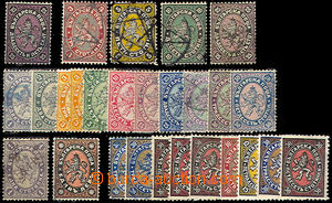 44949 - 1879-1901 selection of 27 pcs of stamp., i.a. Mi.3, 6-8, 10,