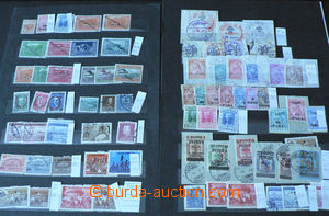45049 - 1913-60 ALBANIA  comp. of stamps on 2 on stock-sheets, conta