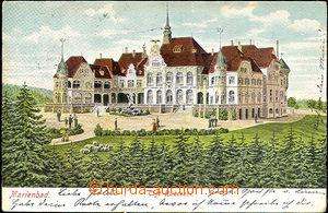 45055 - 1905 Mariánské Lázně, Café Rüberzahl, barevná, použitá, zach