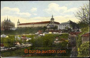 45061 - 1914 Kutná Hora, chrám sv. Barbory a kasárna, kolorované