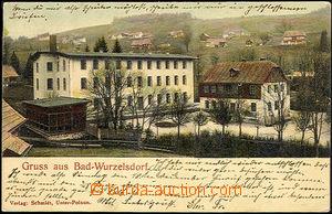 45083 - 1901 Kořenov - Gruss aus Bad-Wurzelsdorf, bathhouse; long a