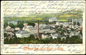 45085 - 1905 Vrchlabí (Hohenelbe) - general view; long address, Us,