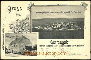 45089 - 1901 BOŽÍ DAR (Gottesgab) - nejvýše položené město ve