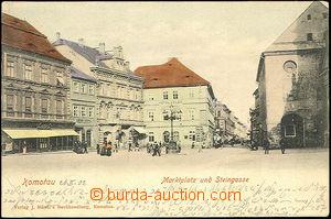 45102 - 1902 Chomutov (Komotau) - Marktplatz und Steingasse; DA, pro