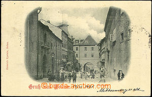 45121 - 1898 Brno, Orlí street; long address, Us, light bumped corn
