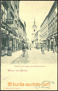 45133 - 1899 BRNO (Brünn) - Jánská street, view of church; long a