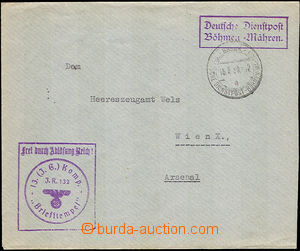 45134 - 1939 letter to Vienna sent via Deutsche Dienstpost, CDS Germ