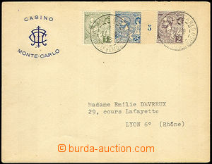 45173 - 1923 envelope with additional-printing kasina in/at Monte Ch