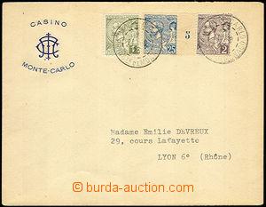 45173 - 1923 obálka s přítiskem kasina v Monte Karlu zaslaná do
